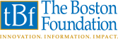 The Boston Foundation logo with the words innovation, information, impact below