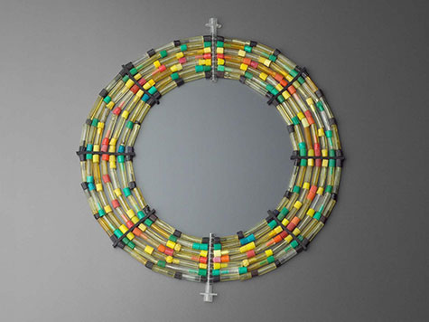 necklace made of crack vials