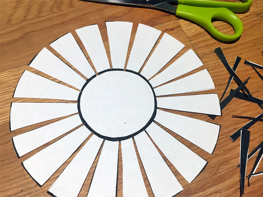 basket template cut out