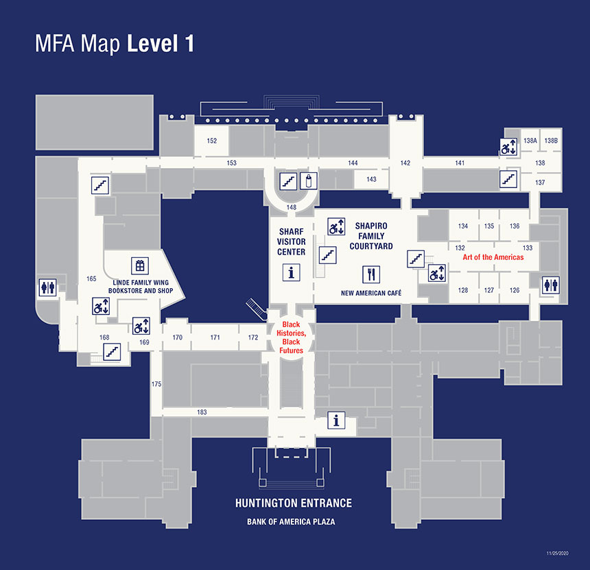 map of Museum's level 1