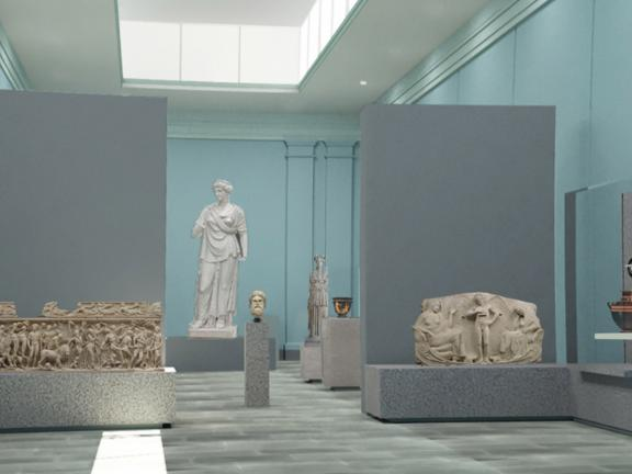 Rendering of new Classical gallery design