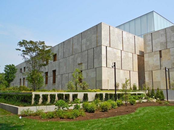 Facade of Barnes Foundation