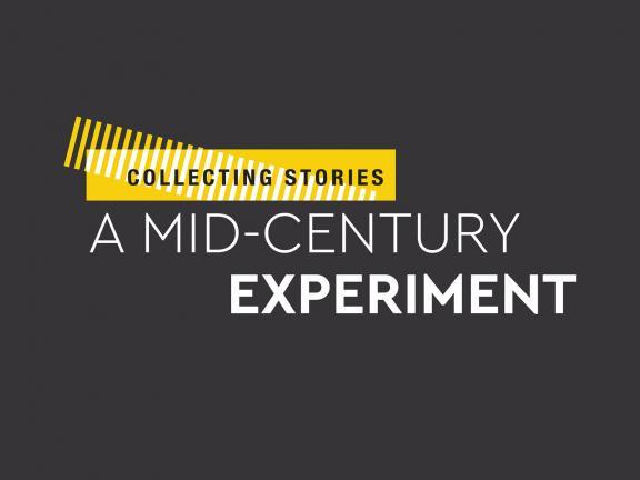Mid-Century Experiment exhibition graphic