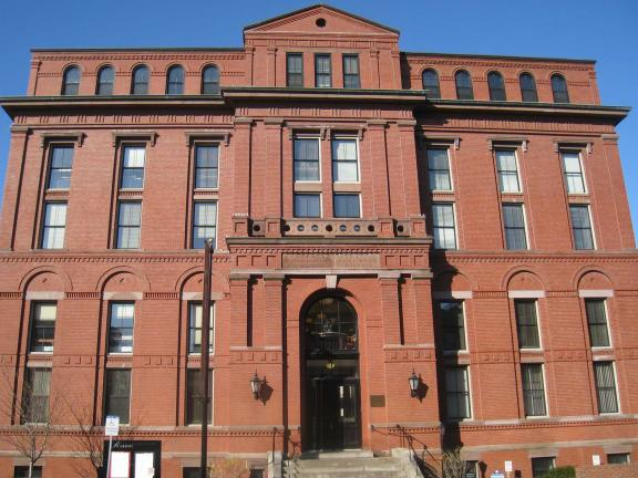 Facade of Peabody Museum of Archaeology and Ethnology, Harvard University