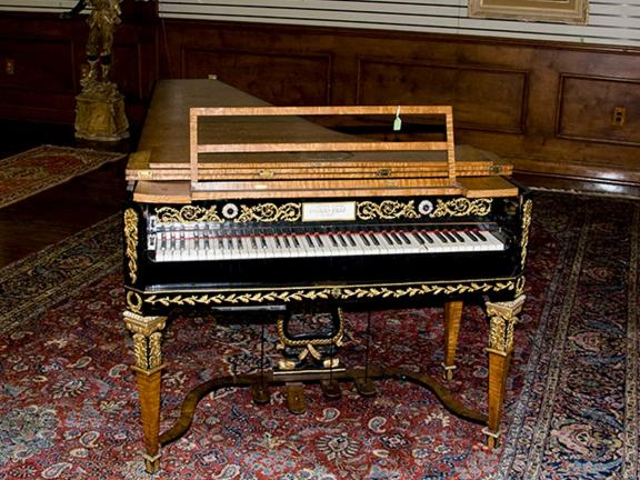 Johann Peter Fritz, Grand Piano, about 1815.