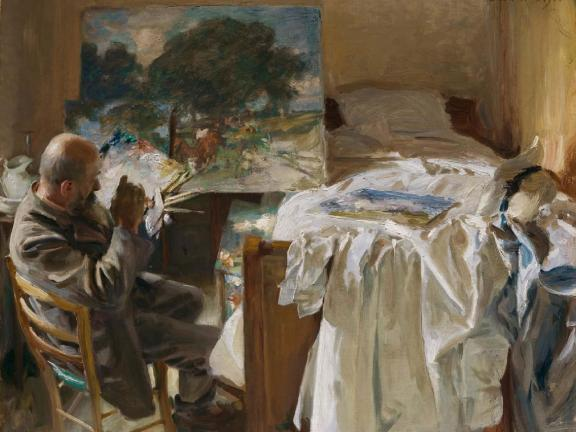 John Singer Sargent's painting, An Artist in His Studio