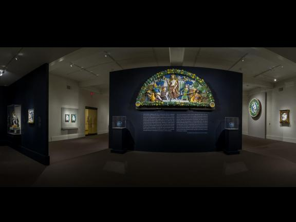 Panoramic image of Della Robbia: Sculpting with Color in Renaissance Florence
