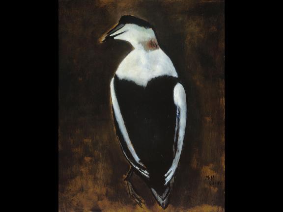 Marsden Hartley's painting, Black Duck