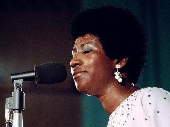 Still from Aretha Franklin: Amazing Grace