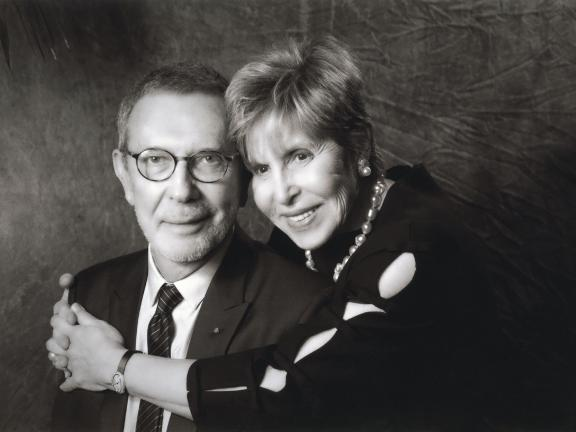 Portrait of Arne and Milly Glimcher