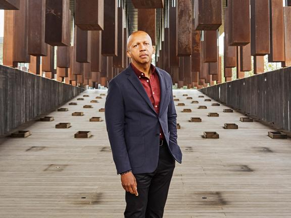 headshot of Bryan Stevenson