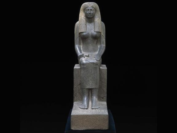 Egyptian Middle Kingdom, Statue of Lady Sennuwy, 1971–1926 B.C.