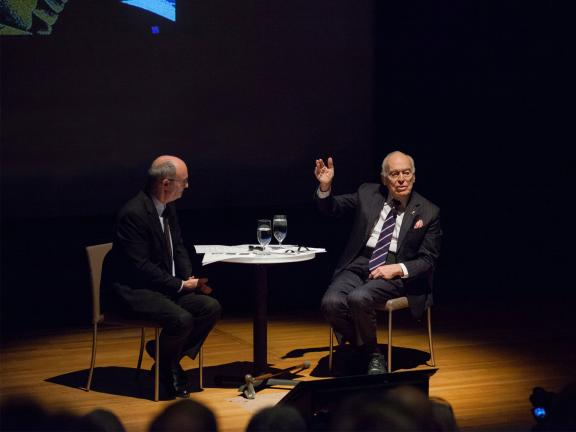 Lecture with Matthew Teitelbaum and Leonard Lauder