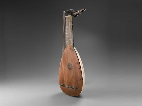 Lute created by Andreas Berr in 1699