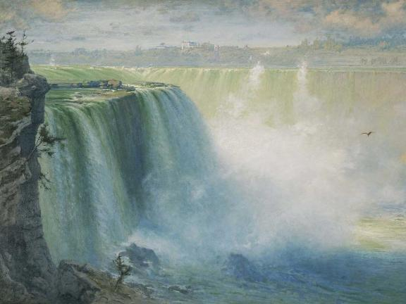George Inness, Blue Niagara, 1884