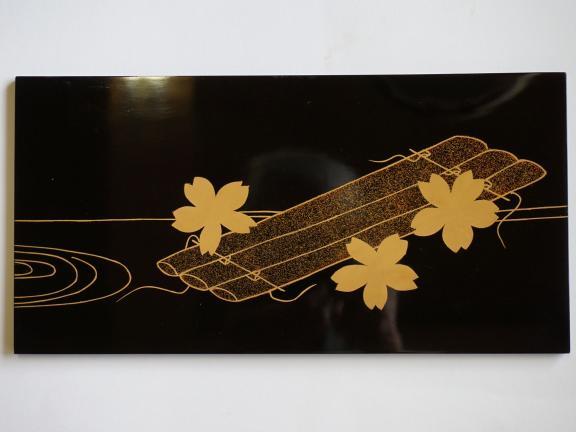 Gyokusen Mochizuki, urushi flowers, 2019