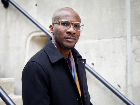 headshot of Teju Cole