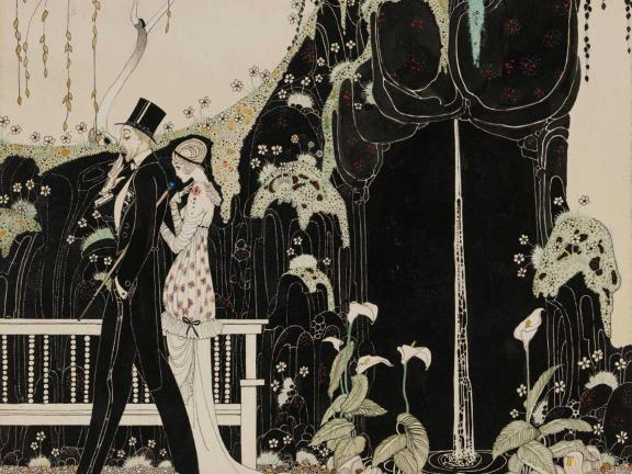 Kay Nielsen, A Tale from a Garden. No. 1-4, He and She and That, 1913