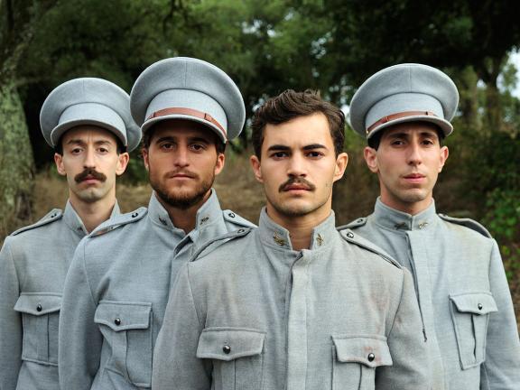 Still from Soldado Milhões