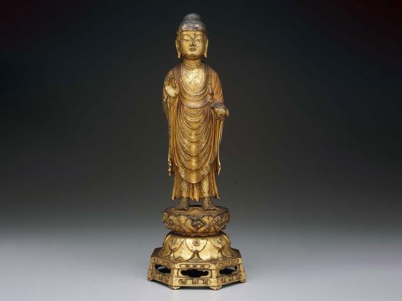 Medicine Buddha, Korean, Unified Silla period, 8th century
