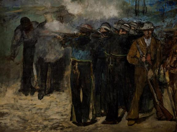 Edouard Manet, Execution of the Emperor Maximilian, 1867