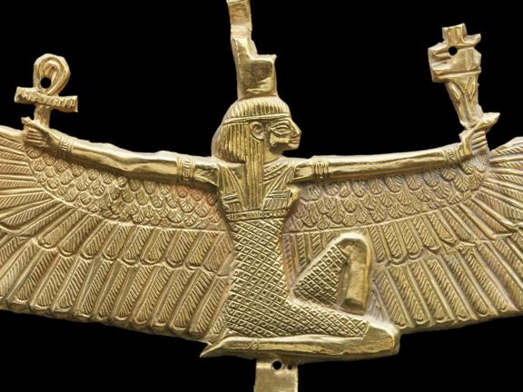 Nubian winged Isis pectoral