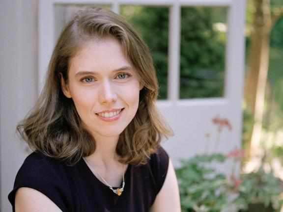 Headshot of author Madeline Miller