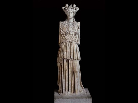 image of Statue of Athena Parthenos (the Virgin Goddess)