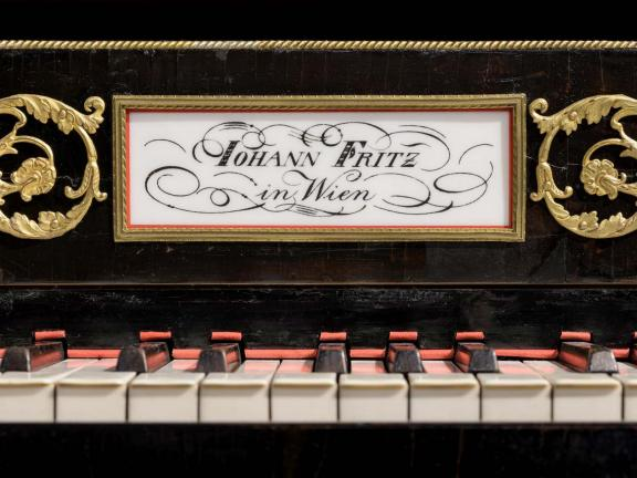 detailed image of Grand Piano by Johann Peter Fritz