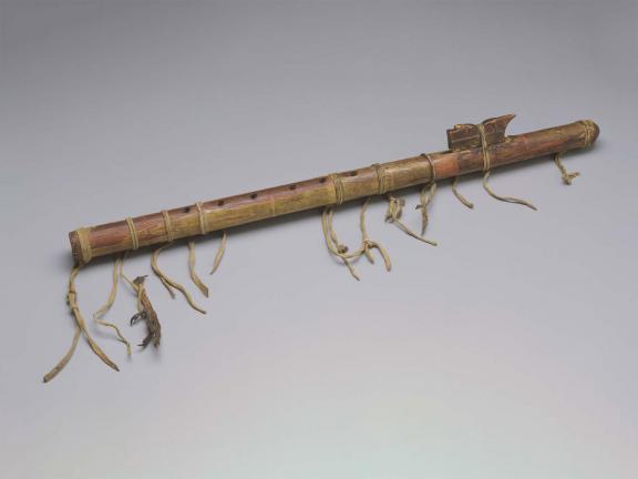 mid-19th century Sioux flute