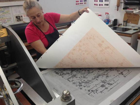 Carolyn Muskat printing Tanja Softic