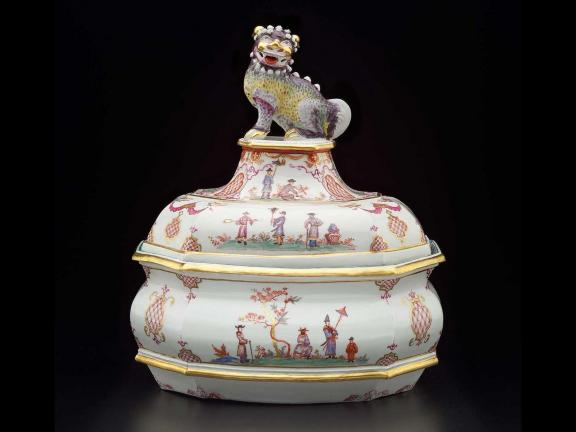 Made by: Du Paquier Factory, Vienna, Tureen and cover, 1718–1744