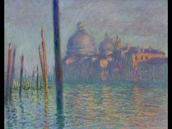 painting of a building across the grand canal