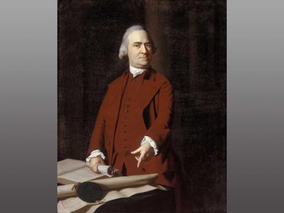 portrait painting of Samuel Adams