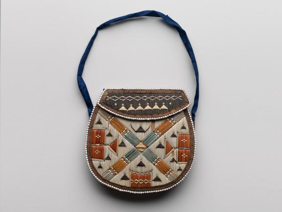 picture of a beaded pouch