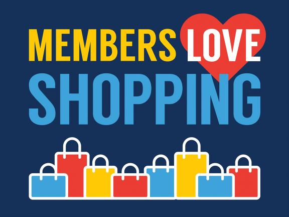 Members Love Shopping