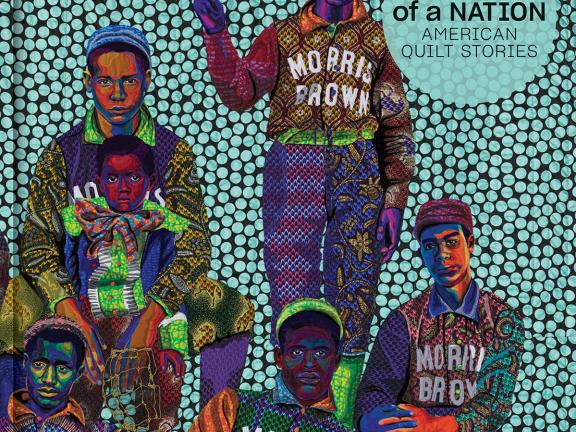 Image of book cover, Fabric of a Nation: American Quilt Stories