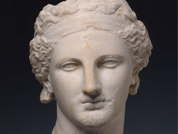 Dionysos, Greek, Classical or Hellenistic Period, about 340 BC