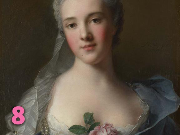 Jean Marc Nattier's painting, Manon Balletti