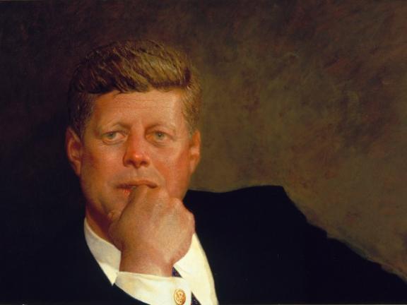 Portrait of John F. Kennedy 1967