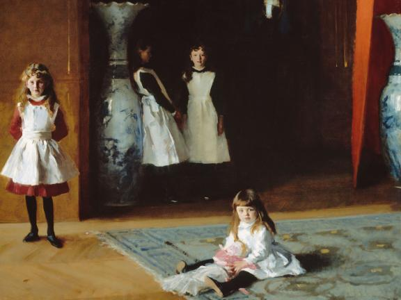 John Singer Sargent, The Daughters of Edward Darley Boit, 1882