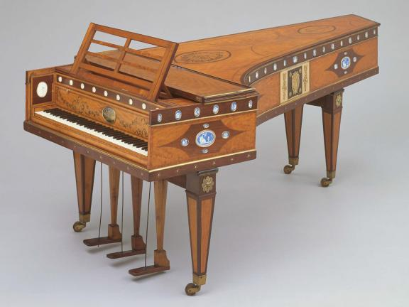 Grand piano by John Broadwood & Son, 1796
