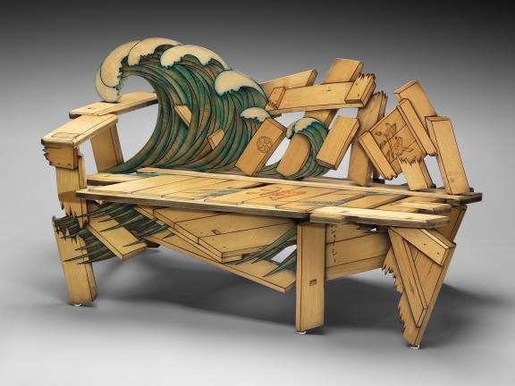 John Cederquist's bench, Couchabunga