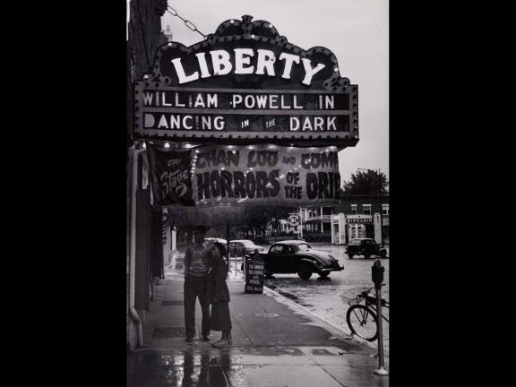 Gordon Parks, Untitled (Outside the Liberty Theater), 1950