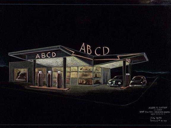 Design for ABCD service station