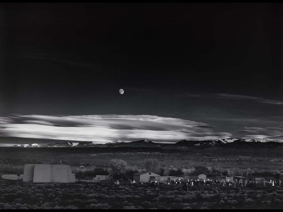 Ansel Adams's photograph, Moonrise, Hernandez, New Mexico