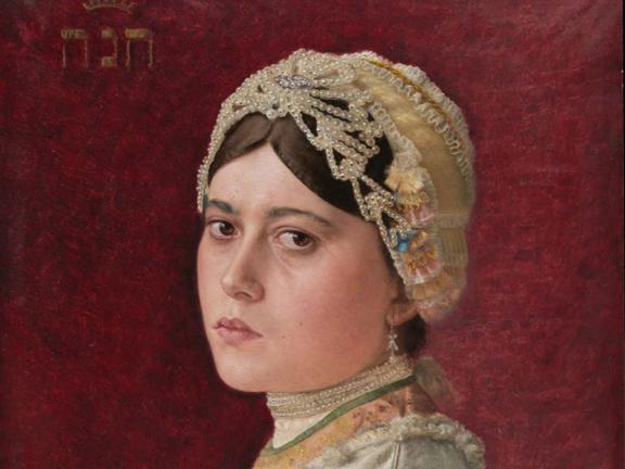 Isidor Kaufmann's painting, Hannah