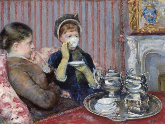Mary Stevenson Cassatt, The Tea, about 1880