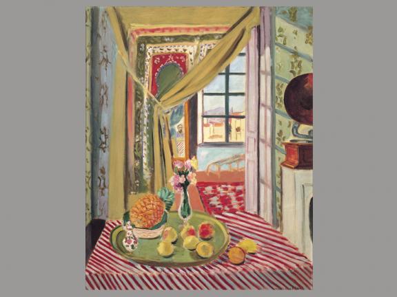 Henri Matisse, Interior with Phonograph