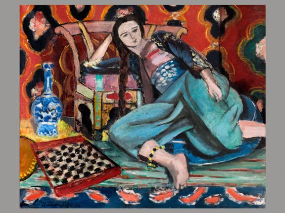 Henri Matisse, Odalisque on a Turkish Chair